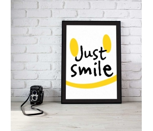 Quadro Just Smile